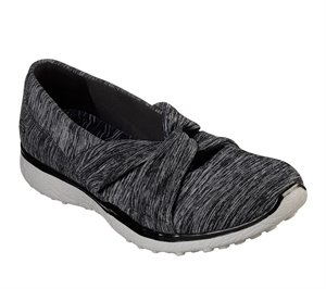 Gray Black Skechers Microburst - Knot Concerned