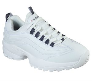 White Skechers Tidao - Chromis - FINAL SALE