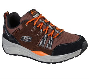 Black Brown Skechers Relaxed Fit: Equalizer 4.0 Trail EXTRA WIDE FIT - FINAL SALE