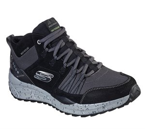 Gray Black Skechers Relaxed Fit: Equalizer 4.0 Trail - Break Set - FINAL SALE