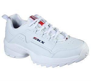 Navy White Skechers Tidao - Rigul - FINAL SALE