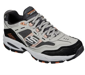 Orange Gray Skechers Vigor 2.0 - Nanobet - FINAL SALE