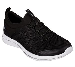 White Black Skechers City Pro