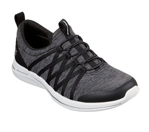 White Black Skechers City Pro - What A Vision