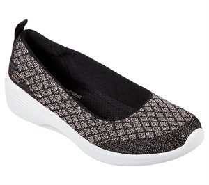 Gold Black Skechers Arya - In the Stars