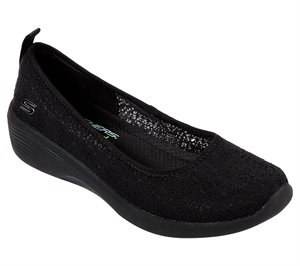 Black Skechers Arya - Airy Days