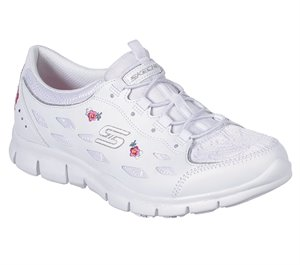 White Skechers Gratis - Divine Bloom