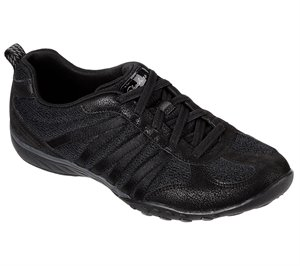 Black Skechers Relaxed Fit: Breathe-Easy - Be Relaxed
