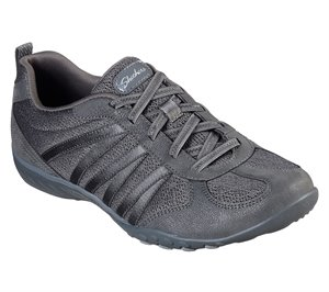 Gray Skechers Relaxed Fit: Breathe-Easy - Be Relaxed