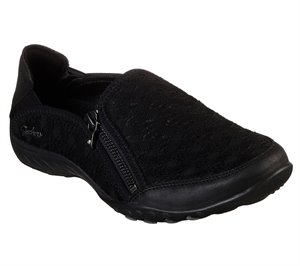 Black Skechers Relaxed Fit: Breathe Easy - Wise Words