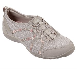 Natural Skechers Relaxed Fit: Breathe-Easy - Garden Joy