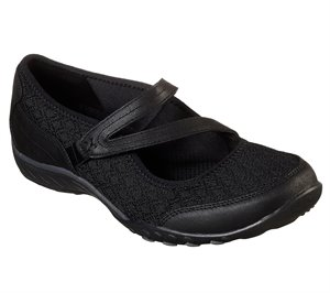 Black Skechers Relaxed Fit: Breathe Easy - In Good Spirits