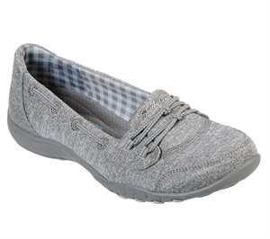 Gray Skechers Relaxed Fit: Breathe Easy - Good Influence