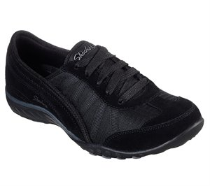 Black Skechers Relaxed Fit: Breathe-Easy - Weekend Wishes