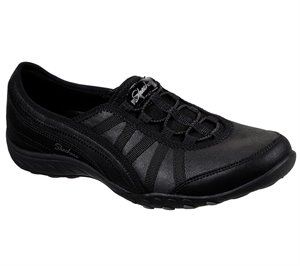 Black Skechers Relaxed Fit: Breathe-Easy - Adoring