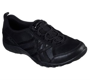 Black Skechers Relaxed Fit: Breathe Easy - Days End