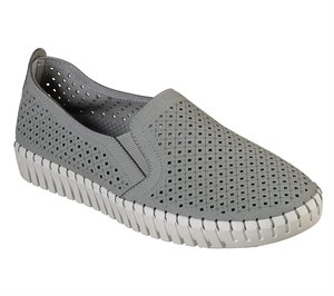 Gray Skechers Sepulveda Blvd - A La Mode