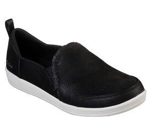 White Black Skechers Madison Ave - City Soul