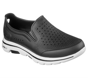 White Black Skechers Cali Gear: Skechers GOwalk 5 - Easy Going