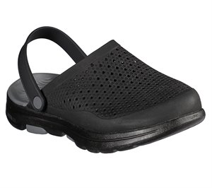 Gray Black Skechers Cali Gear: GOwalk 5 - Astonished