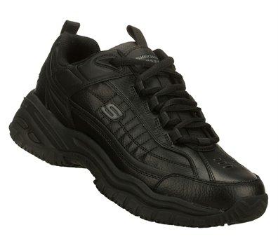 Black Skechers SOFT STRIDE - EXTRA WIDE