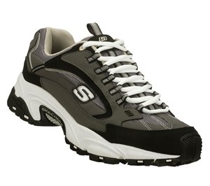 Gray Skechers Stamina - Nuovo Wide Width