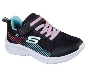 Blue Black Skechers Microspec