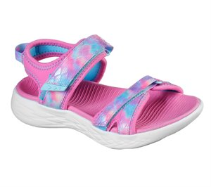 Multi Pink Skechers Skechers On the GO 600 - Tide Turner