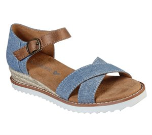 Blue Skechers Lil BOBS Desert Kiss - Humble Horizon