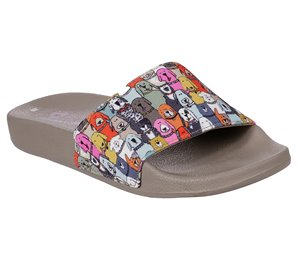 Multi Skechers BOBS Pop Ups - Doggie Paddle
