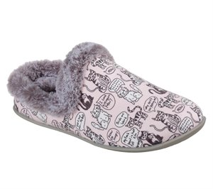 Pink Skechers BOBS Beach Bonfire - Cuddle Kitties