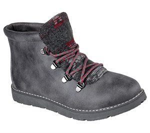 Gray Skechers BOBS Alpine - Keep Trekking