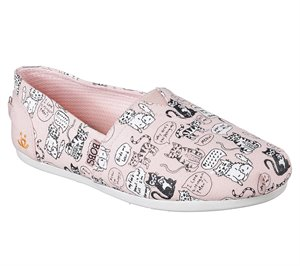 Pink Skechers BOBS Plush - Quote Me