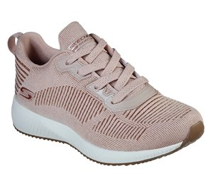 Pink Skechers BOBS Sport Squad - Glam League