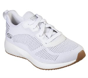 White Skechers BOBS Sport Squad - Glam League