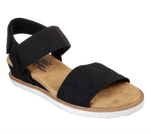 Black Skechers BOBS Desert Kiss