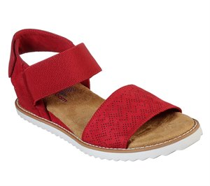 Red Skechers BOBS Desert Kiss