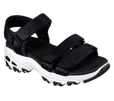 Black Skechers D'Lites - Fresh Catch