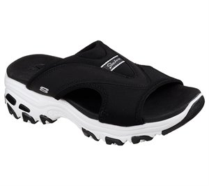 BLACK Skechers DLites - Retro Vibe