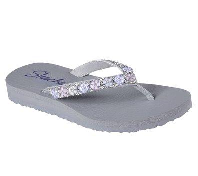 GRAY Skechers Meditation - Daisy Delight