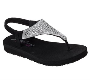 BLACK Skechers Meditation - Rock Crown