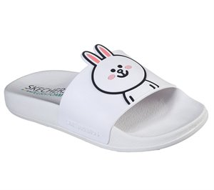 White Skechers Line Friends: Pop Ups - Pal Parade