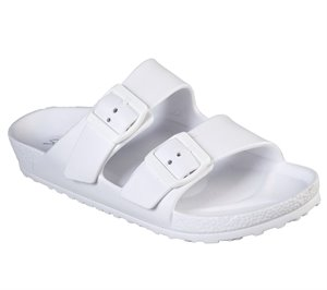 White Skechers Cali Breeze - Thunder Bolt