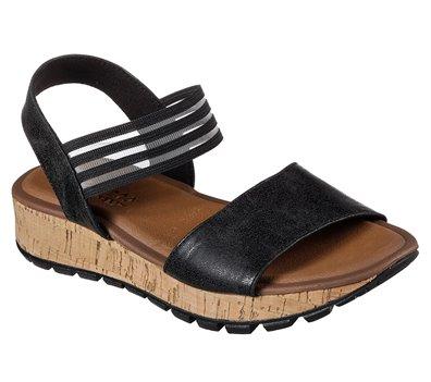 Black Skechers Footsteps - Markers