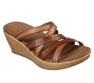 Brown Skechers Beverlee - Tiger Posse
