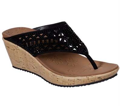 Black Skechers Beverlee - Summer Visit
