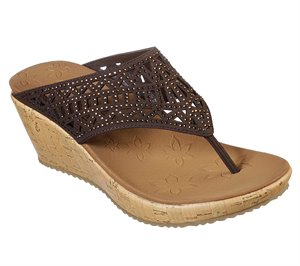 Brown Skechers Beverlee - Summer Visit