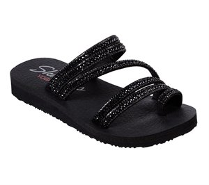 Black Skechers Meditation - Glam Flash