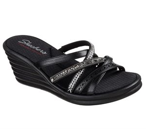 Black Skechers Rumblers Wave - New Lassie