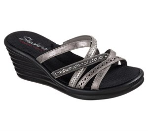 Silver Skechers Rumblers Wave - New Lassie